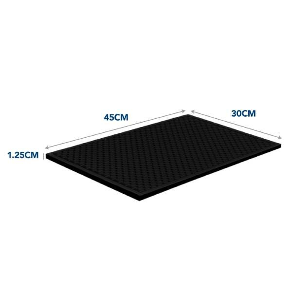 "Heavy Duty Bar Mat (12x18"")"