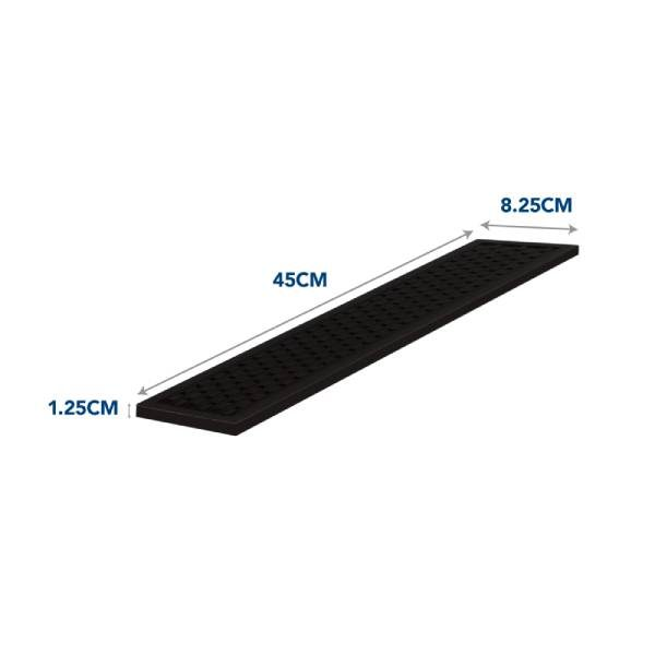 Long Bar Mat Dimensions