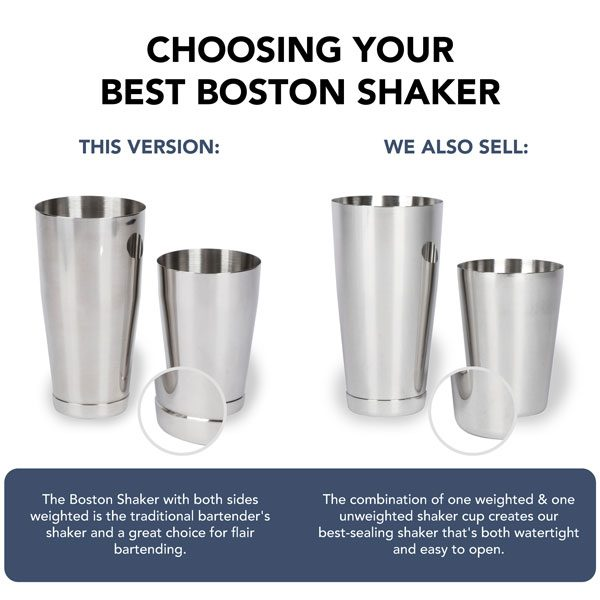 Boston Shaker - Weighted / Weighted