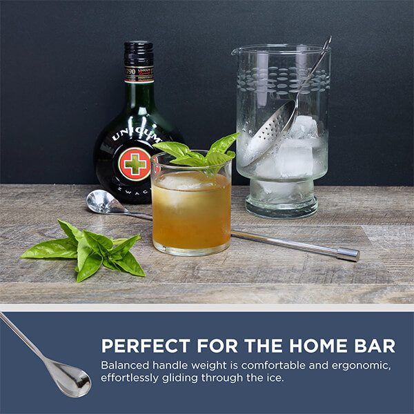 Smooth Bar Spoons (2pc)
