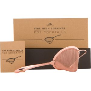 Fine Mesh Strainer - Copper