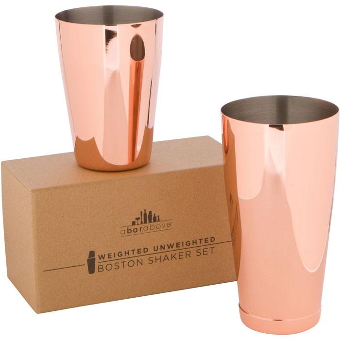 Copper Boston Shaker