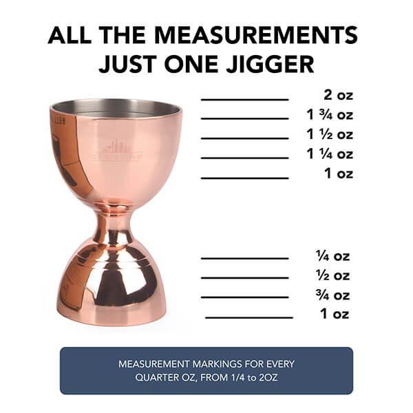 Bell Jigger - Copper