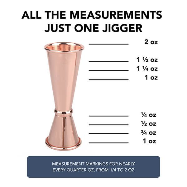 Japanese Jigger - Copper
