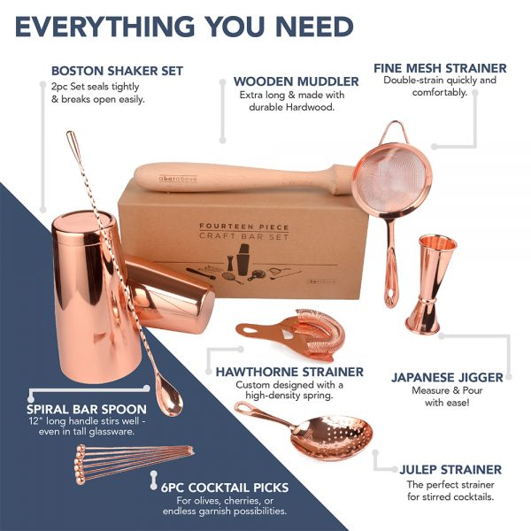Complete Craft Bar Set - Copper