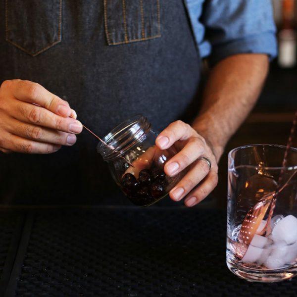 Cocktail Picks - 6 Short & 6 Long, Copper Finish