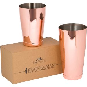 Copper Boston Shaker – Weighted
