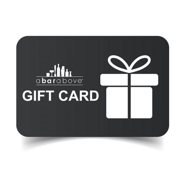 A Bar Above Gift Card - Gray