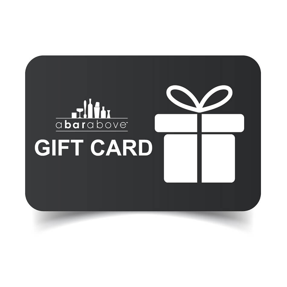 A Bar Above Gift Card - Gray