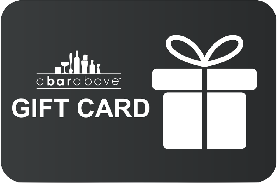 A Bar Above Gift Card - Black