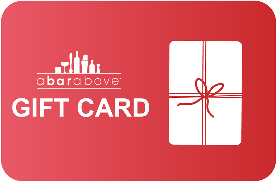 A Bar Above Gift Card - Red