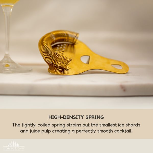 Gold Hawthorne Strainer - High Density Spring